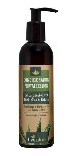 kit shampoo condicionador fortalecedor live aloe vera babosa