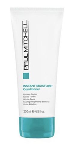 kit shampoo + condicionador instant moisture paul mitchell