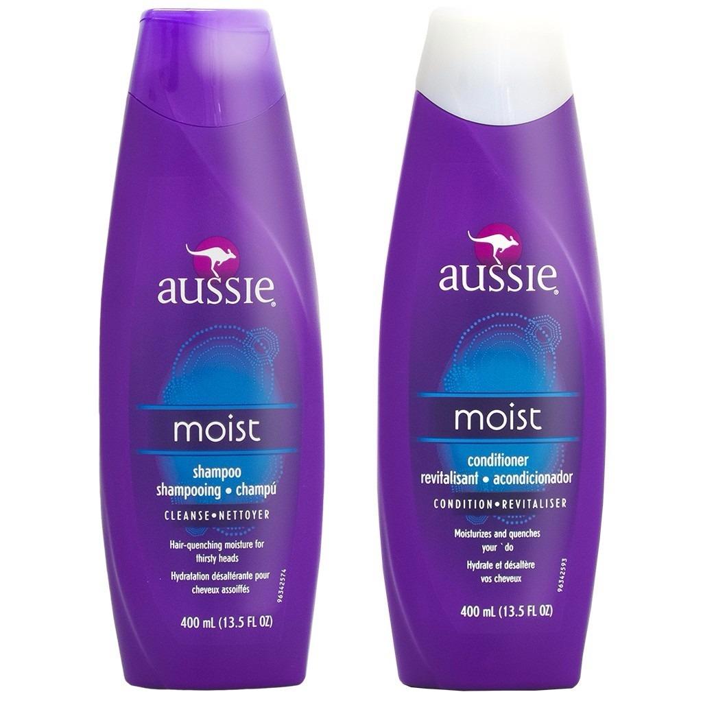 748b6bd860 kit shampoo e condicionador aussie - moist ou volume. Carregando zoom.