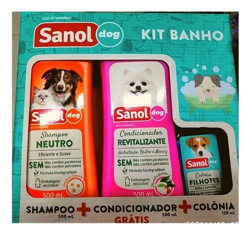 kit shampoo e condicionador colônia - cachorro e gato neutro