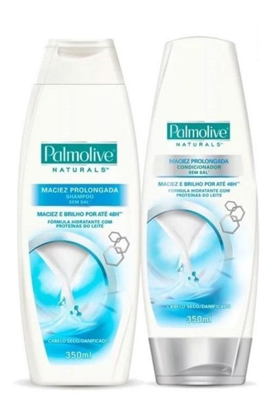 Kit Shampoo E Condicionador Maciez Prolongada Palmolive - R$ 30,86 ...