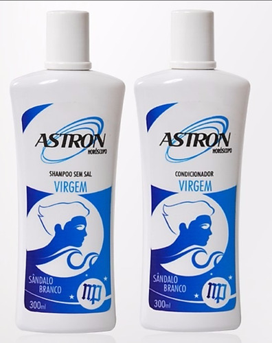 kit shampoo e condicionador virgem astron 300 ml