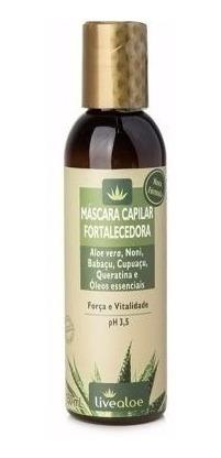 kit shampoo fortalecedor para cabelo babosa live aloe vera