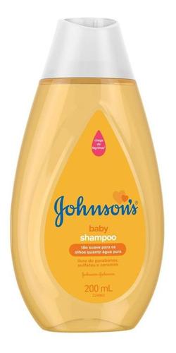 kit shampoo johnsons baby regular 200ml c/6 unidades