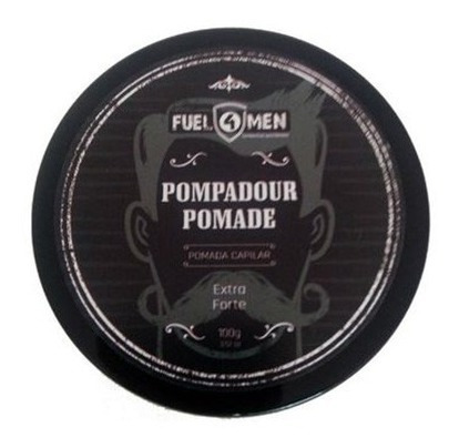 kit shampoo + pomada modeladora cabelo fuel4men