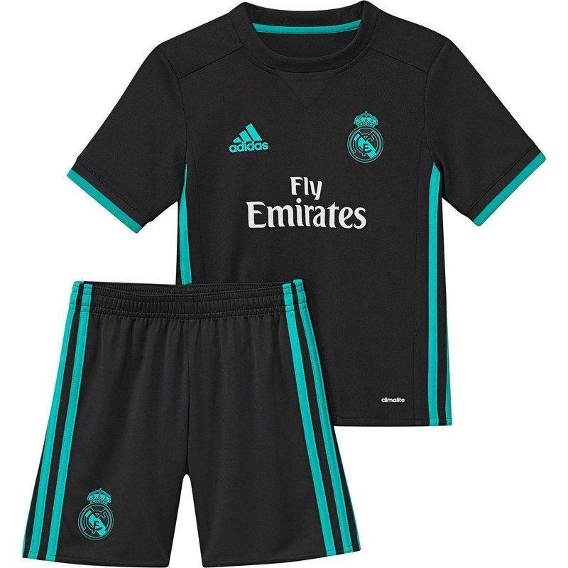 Kit Short E Camisa Real Madrid Temporada 2017/18