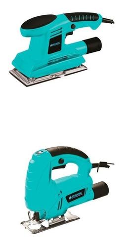 kit sierra caladora 400w + lijadora 180w work
