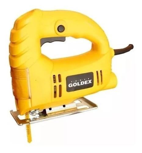 kit sierra circular + caladora + lijadora goldex herramienta