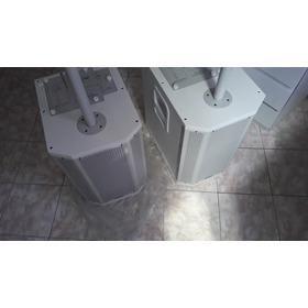 Kit Sistema Caixa De Som Torre Amplificado Grt12 Brinde Cabo