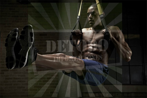kit sistema de suspensión training crossfit gimnasio