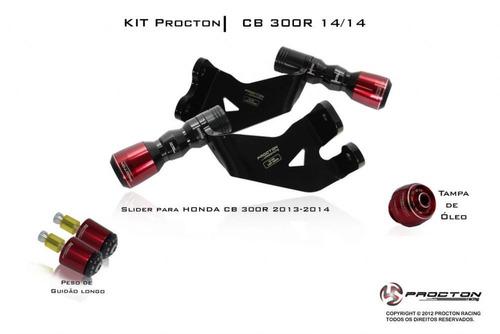 kit slider procton racing - honda cb 300r cb300r cb300