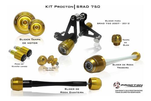 kit slider procton racing suzuki gsx-r 750 srad 2007 a 2017