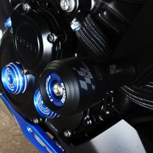 kit slider protetor radiador gp nylon cb650f cb 650f 18 19