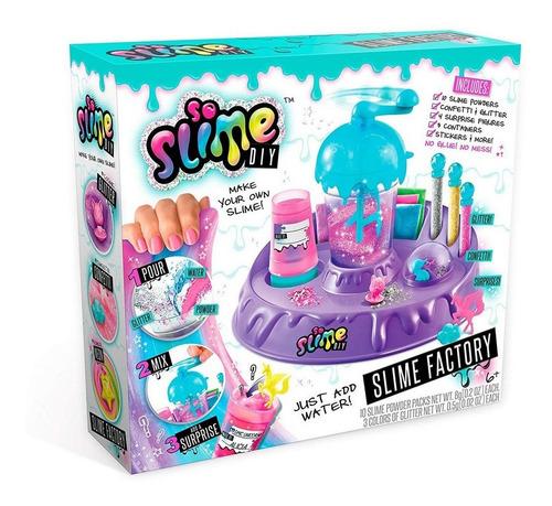 kit slime fabrica de slime factory brinquedo diy
