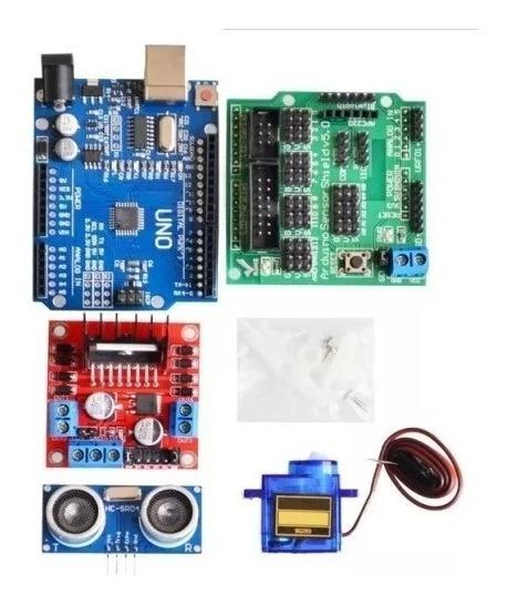 Kit Smart Car Chassi Carro/carrinho 2wd Arduino Robot Completo Educacional  Sem Nf == Somos Atacadista De Arduino Esp32