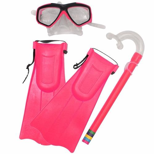 kit snorkel máscara