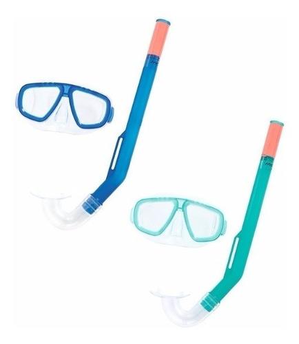 kit snorkel niños buceo bestway fundive hidro swim antiparra