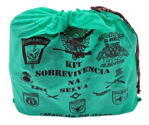 kit sobrevivência na selva - loja oficial
