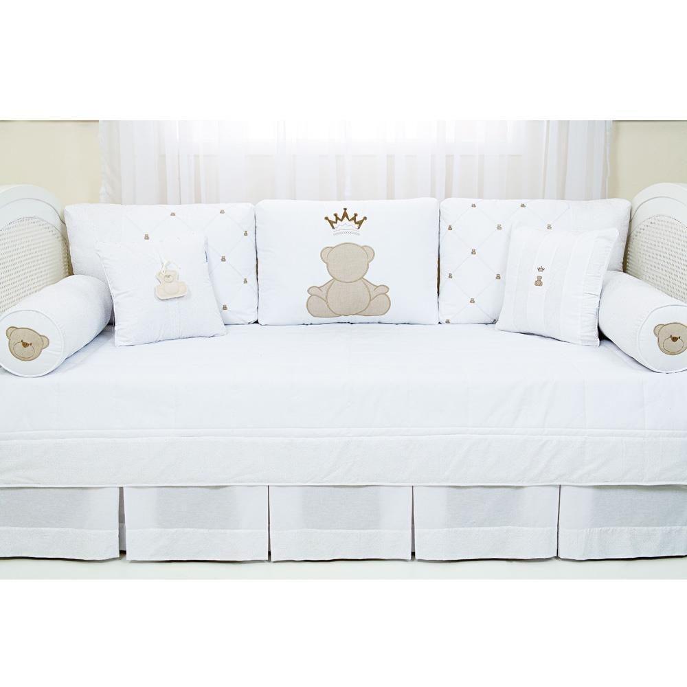 kit sof cama enxoval 8 pe as theodore quarto bebe biramar