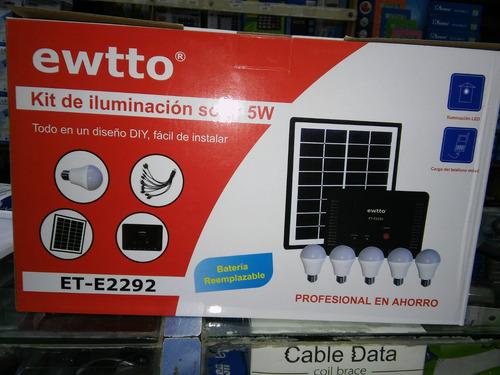 kit solar 5 portatiles