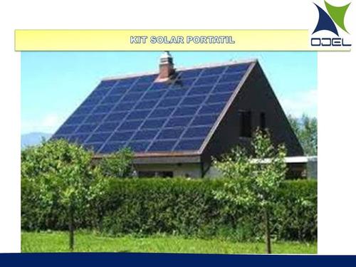 kit solar de 100w