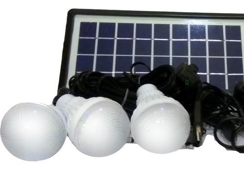 kit solar emergencia camping 220v ampolletas 36 hrs ml2965