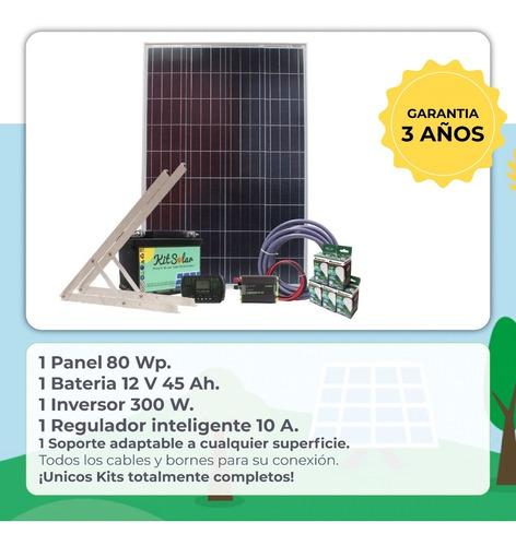 kit solar energia