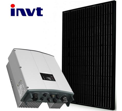 kit solar para bomba sumergible o motor 1hp paneles 330watts