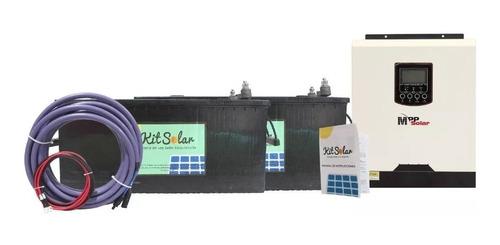 kit solar ups para casas automatico energia en baterias 3g