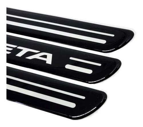 kit soleira da porta honda fit 2015/2020 adesivo protetor
