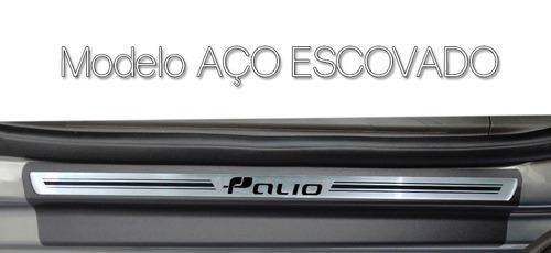 kit soleira premium resinada porta fiat palio 2012/...