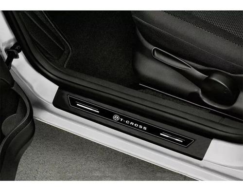 kit soleira protetora porta novo t-cross sense 2020 original