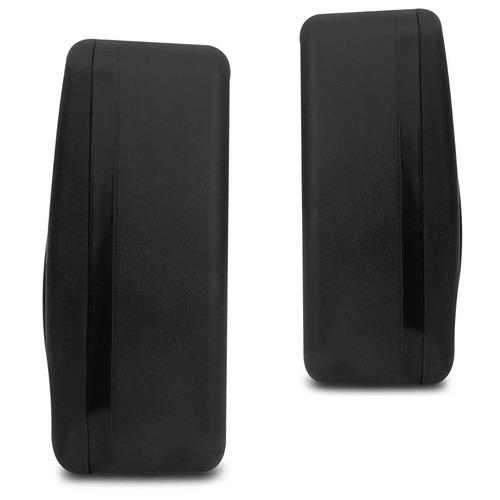 kit som ambiente 300w bluetooth + 6 caixas parede pretas