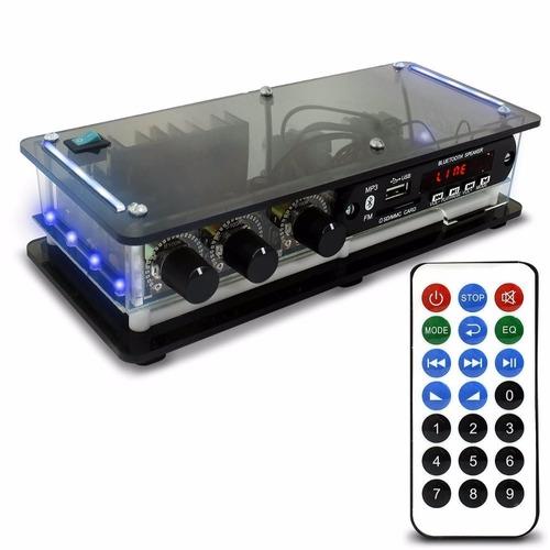kit som ambiente rc bt + 6 caixas acústica estéreo