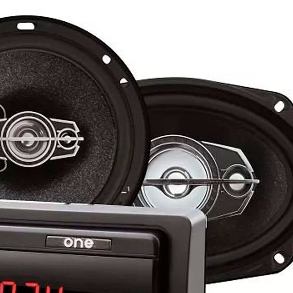 890fbba55a5 Kit Som Automotivo Mp3 Com Entrada Sd