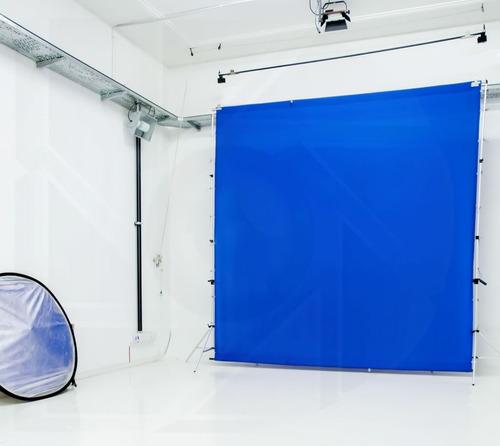 kit soporte porta fondo infinito tela 3x3mt foto video pro