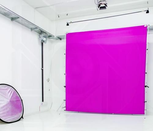 kit soporte portafondo + infinito tela 3x3 fotografia video