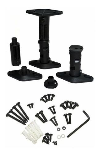 kit soportes ajustables pared/techo para parlantes jd sps-01