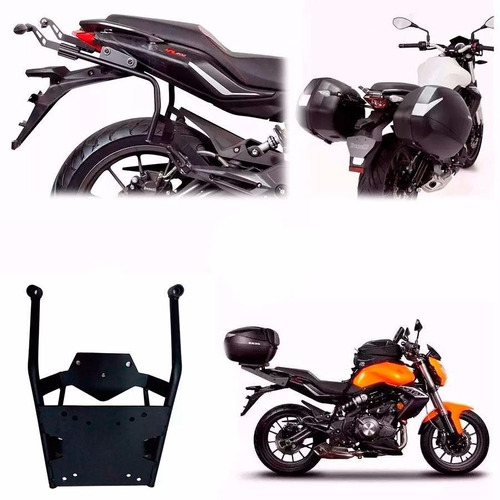 kit soportes laterales + tras shad benelli tnt 300 cuotas