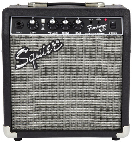 kit squier: guitarra stratocaster affinity sunburst + amplif