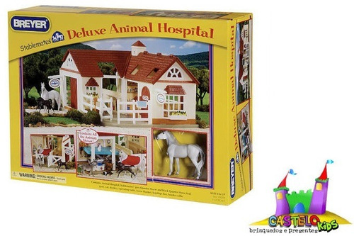 kit stablemates hospital veterinário breyer f