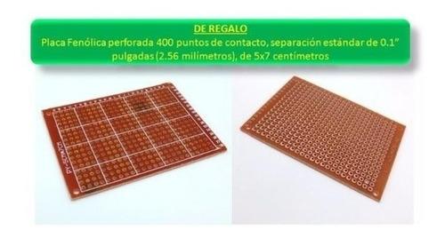 kit starter electrónica básica + placa ar duno uno genérica