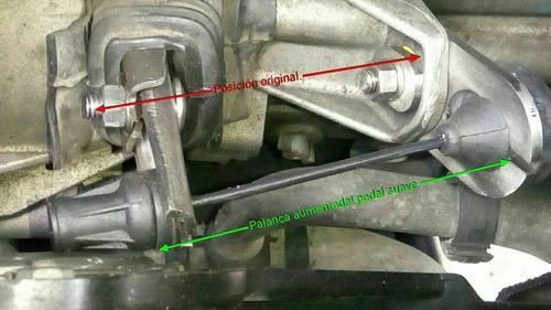 kit suavizador clutch twingo, clio 1, r9, acero inoxidable.