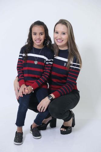 kit suéter tal mãe tal filha