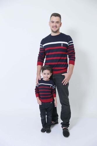 kit suéter tal pai tal filho