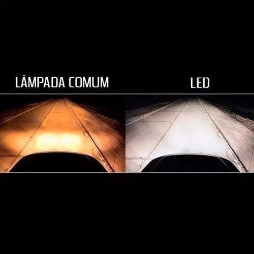 kit super led prisma 2014 2015 2016 2017 foco simples 6000k