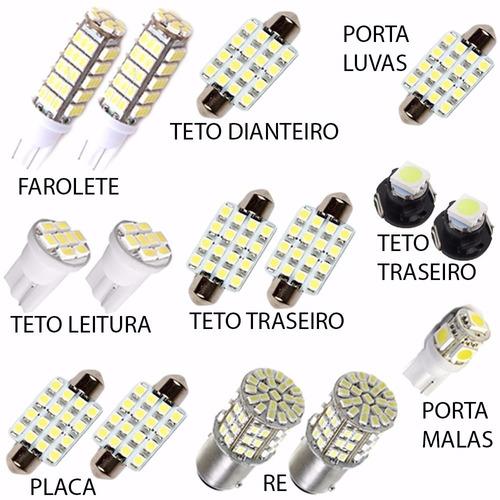 kit super lâmpadas led polo hatch pingo teto placa torpedo