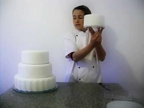 kit suporte  6 andares redondo + formas para bolo 10 cm