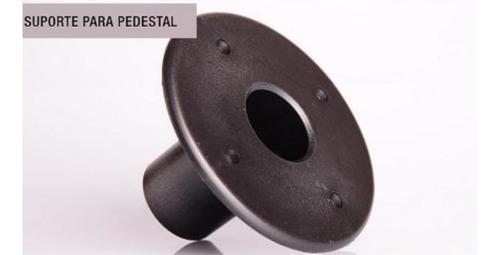kit suporte copo chapéu para pedestal de caixa de som plástico - 100 unidades