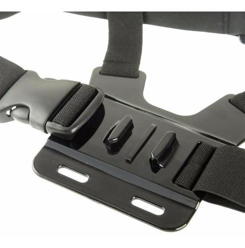 kit suporte de cabeça + suporte de peito gopro hero2 hero3
